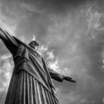 Christ the Redeemer B&W