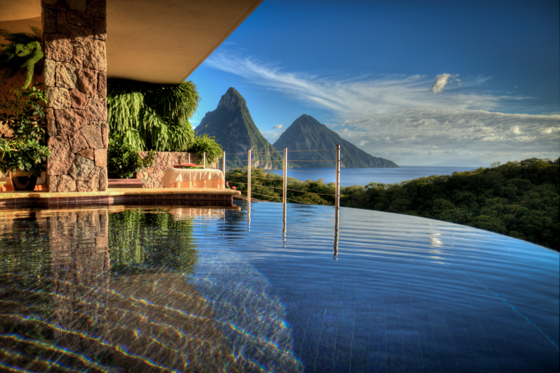 Jade Mountain Hotel In St Lucia